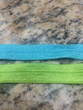 """Bright Colors Fold Over Elastic Spandex 5/8"""" (15mm)"""