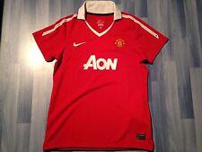 Pequeño adultos Manchester United Camiseta De Fútbol Temporada 2010-2011 Home