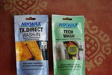 Nikwax Tx Direct & Tech Laver Sachets pour Imperméabilisant Imperméable