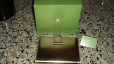 Kate Spade Elyce Brag Book Jane Street gold metallic leather new with tags $115