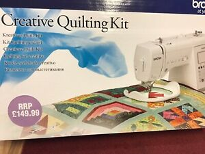 BROTHER CREATIVE QUILTING KIT A150 A80 A60/50 A16 FREE UK DELIVERY