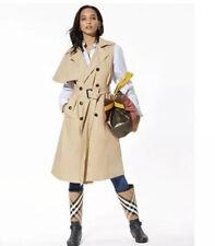 NWT BCBG BCBGMAXAZRIA Shanie Vest Trench Coat Long Tan Belted Size XXS XS $268