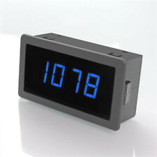 4 Digital LED Tachometer RPM Speed Meter 10-9999RPM Speedometer+Pusle Signal NPN