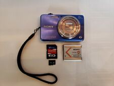 Sony Cyber-shot DSC-WX150 18.2 MP Digital Camera - Blue! Tested! w/ 16GB SD Card