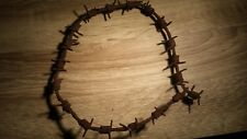 WW2 German barbed wire piece, 45 cm - Original item from battlefield