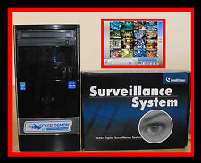 """8 TB 32 CH GEOVISION NVR (8.7) """"LICENSED"""" 32ch 3RD PARTY IP CAMERA READY! DONGLE"""