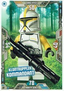 Lego Star Wars Series 2 Trading Cards Card No. 37 Klontruppler Commander