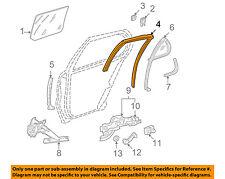 GM OEM Window Glass-Rear Door-Run Channel Right 22615708