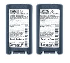 2 BATTERIE BAT25 BAT26 3,6V 5,4Ah LITIO BATLI25 per allarmi Logisty Daitem