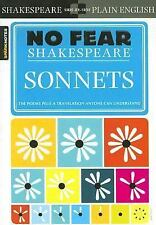 No Fear Shakespeare: Sonnets by SparkNotes Staff and William Shakespeare...
