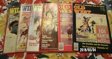 VINTAGE 1991 LOT OF 6 ISSUES Wild West &Old Magazines THE REAL STORIES LIKE NEW