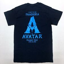 "Disney Avatar ""I Got To See Pandora"" Family Day 2018 Blue Banshee T Shirt SM"