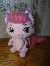 "Disney Princess ""Palace Pets"" Aurora's talking Pink Plush Cat 7-10"""