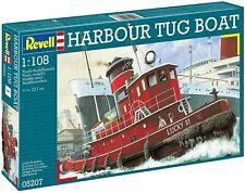Revell Germany 5207 Harbor Tug Boat plastic model kit 1/108