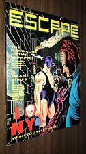 ESCAPE #13 -- 1988 UK Magazine -- Charles Burns Cover -- VF or Better