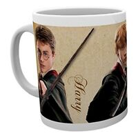 Harry Potter - Wands Mug - Multicolor - Ron Hermione Characters Hogwarts 11 x