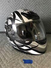 Nitro Racing N340-VX Full Face Motorcycle Helmet Black/Grey