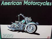 2020 Harley Davidson Motorcycle Calendar