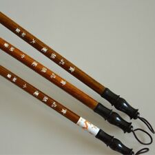 3Pcs Chinese Wool Calligraphy Brush Pen Painting Ink Storage Writing Props T5N