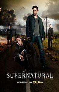 Supernatural poster (f) -  11 x 17 inches - Jared Padalecki, Jensen Ackles