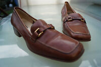 Gabriele By Beni Ladies Shoes Court Classy Italy Gr.39, 5 Leather Braun Like New