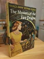 Nancy Drew First Edition 1961 The Mystery Of The Fire Dragon Grosset & Dunlap