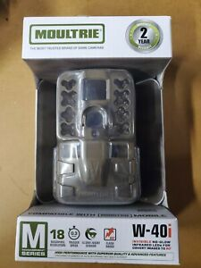 New Moultrie W-40i Game Camera M Series 18 MP 0.3 S Trigger Speed 1080 Video