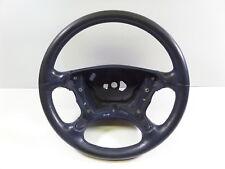 03-09 Mercedes Benz CLK W209 OEM Blue Leather Steering Wheel 4 Spoke A2304600503