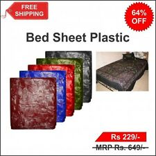 Water Proof Colourful Bed Sheet Reusable Easy Cleaning and Washable