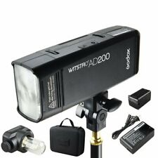 Godox 2.4 TTL Double Head AD200 Outdoor Pocket Flash Li-ion Battery Speedlite