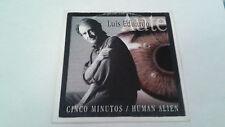 "LUIS EDUARDO AUTE ""CINCO MINUTOS / HUMAN ALIEN"" CD SINGLE 2 TRACKS"