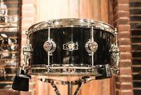 George Way Aristocrat Studio 6.5x14 Gloss Black Snare Drum - New!