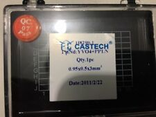 Castech 1% Nd:YVO4+KTP crystals 0.95x0.5x3 mm