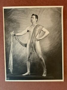 Vintage Male 1950's Nude Gay interest. 8 x 10.