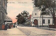 c.1910 Stores Church Forest Ave. Bronx NY post card