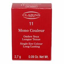 CLARINS SINGLE EYE COLOUR LONG-LASTING 2.7 G/0.09 OZ. #11 NIB-420501