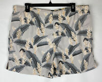 Tommy Bahama Relax Swim Trunks Board Shorts  Mens Size Large Mesh Liner Floral