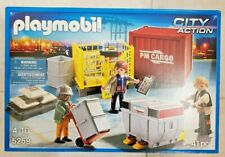 New Playmobil 5259 - Cargo Loading Team (City Action)