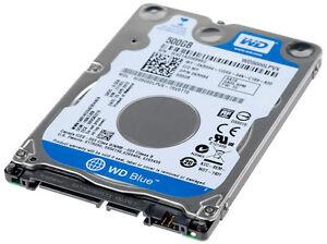 """HARD DISK NOTEBOOK 2,5"""" 500GB WD5000LPCX HD SATA 500 GB BULK (SENZA CONFEZIONE)"""
