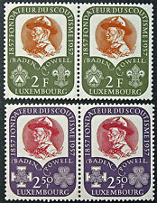 LUXEMBOURG timbres/Stamps Yvert et Tellier n°526 et 527 x2 n** (cyn8)