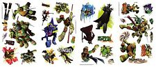 TEENAGE MUTANT NINJA TURTLES WALL DECALS Leonardo Michelangelo Raphael Stickers