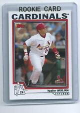 Yadier Molina 2004 04 Topps Baseball Rookie Card #324  QTY