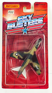 Matchbox 1988 SB2 Corsair Crusader Military Airplane Sky Busters