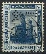 """Egypt 1921-2 SG#92, 10m Blue, """"TC&S"""" Used #D90700"""