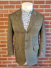 Brioni Louis Boston 3-Button Blazer Surgeon Cuffs Wool Cashmere Mens 40 Short