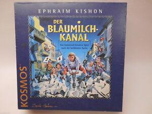 KOSMOS - DER BLAUMILCHKANAL - EPHRAIM KISHON - DAS HUMORVOLL-KREATIVE SPIEL