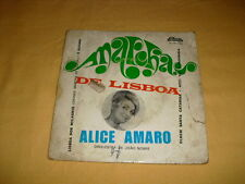 Alice Amaro – Marchas De Lisboa 7'' 45 RPM EP