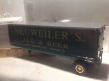 NEUWEILER'S ALE & BEER-1960 MACK MODEL B-61 TRACTOR TRAILER-FIRST GEAR #18-1236