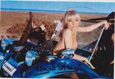 Ingrid Steeger - original Signierung auf schönem Foto