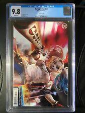 Harley Quinn #59 (2019) DC CGC 9.8 White Chew Variant
